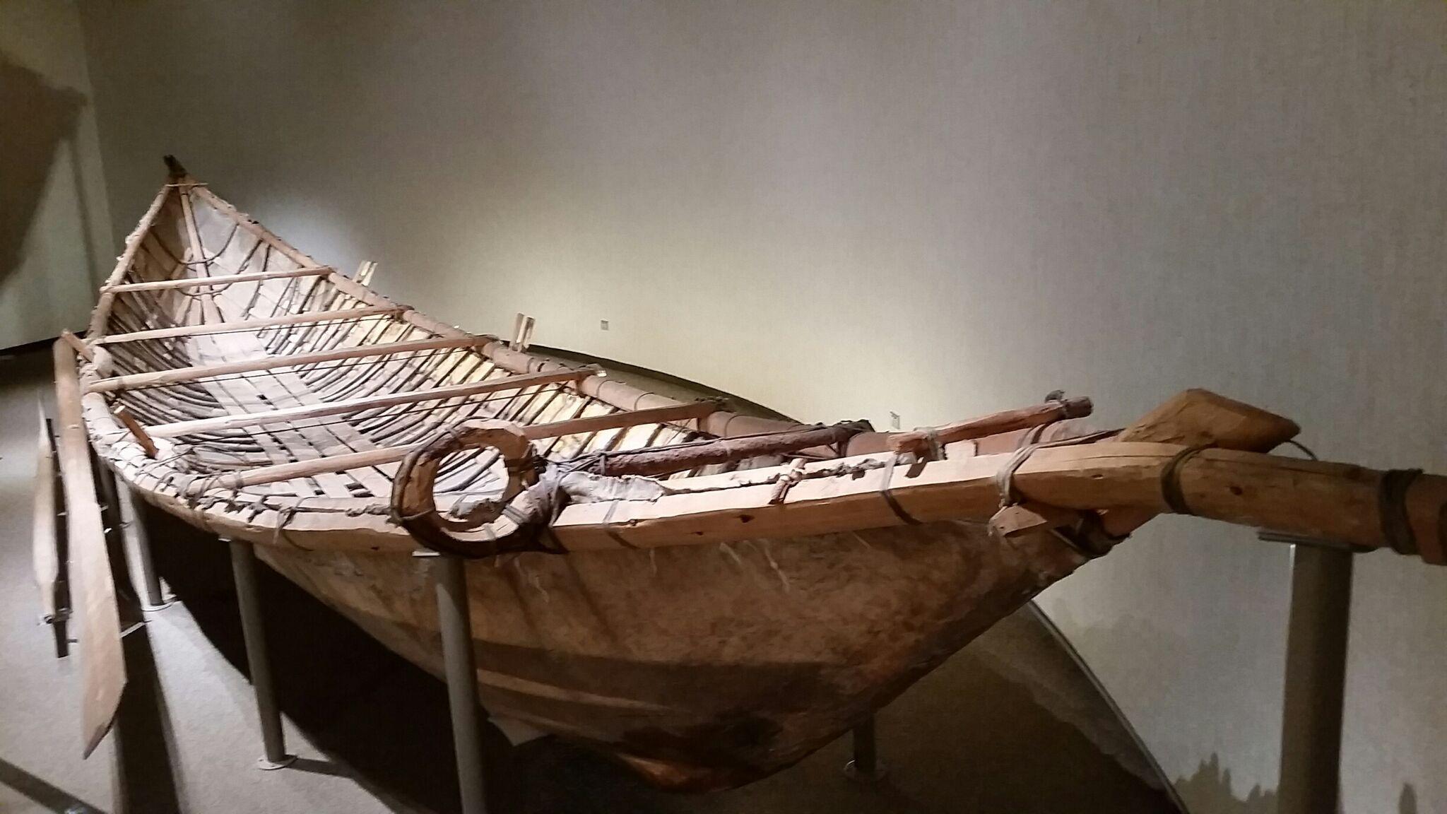PWNHC Mooseskin Boat
